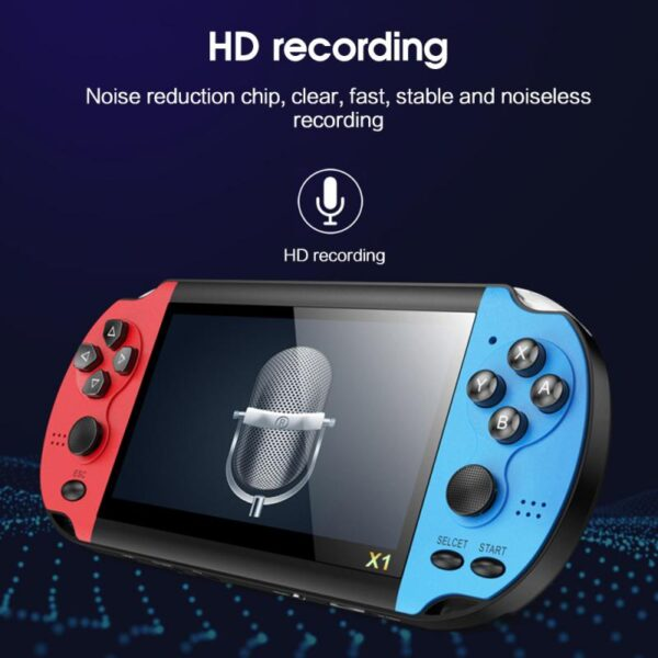 """128Bit 8GB Pro 4.3"""" Screen Handheld Game Console MP3 Player Built-in 10000+ Game"""
