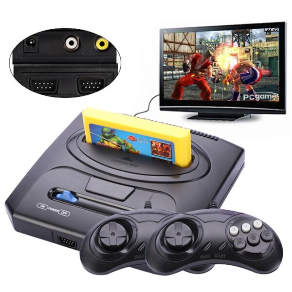 NEW Retro TV Video Game Console For Nes 8 bit Games For Nes Games with Two Gamepads and 500 in 1 Cartridge All Games Different