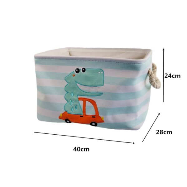 Foldable Laundry Basket for Dirty Clothes for kids baby Toys canvas wasmand large storage hamper kids baby Home Organizer