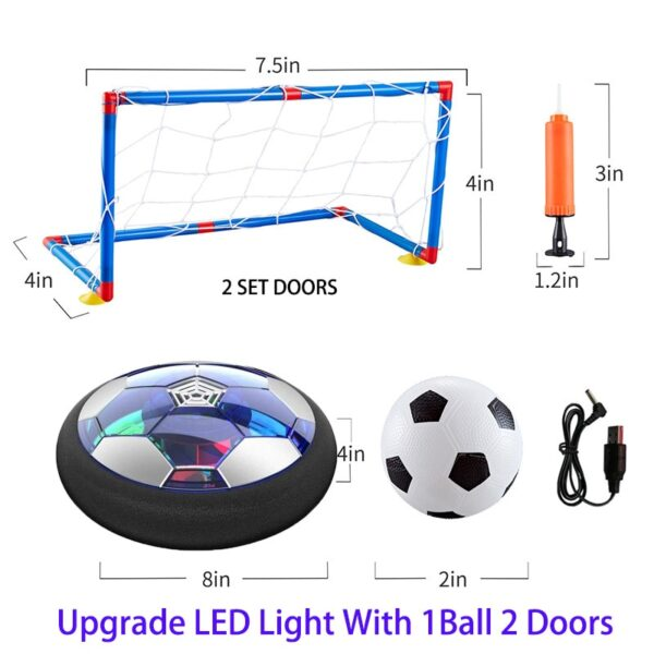 Float Air Hover Soccer Ball Chidren Educational Outdoors Indoor Toy Games For Kids Girls Baby Sport Toys Play Football Star LED