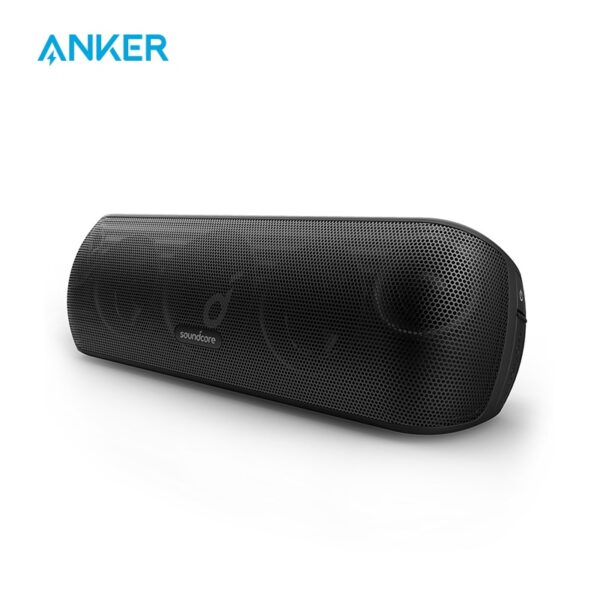 Anker Soundcore Motion+ Bluetooth Speaker with Hi-Res 30W Audio, Extended Bass and Treble, Wireless HiFi Portable Speaker
