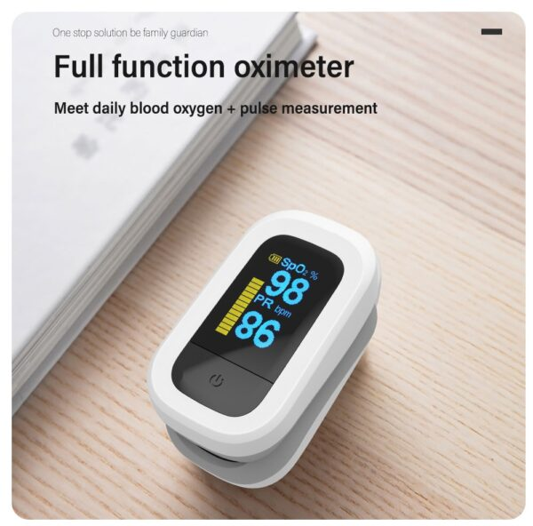 Yongrow OLED Fingertip Pulse Oximeter & Handheld Asthma Inhaler Nebulizer & Baby Thermometer Family Health Care Gift