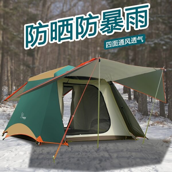 Automatic aluminum Tent Camping Pergola Family Camping Outdoor Fishing Casual Easy-to-put-up Tent College Style Water Resistant