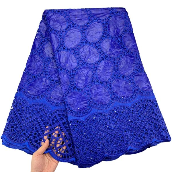 Bazin brode african lace fabric wedding african bazin riche fabric 2.5yards embroidery cotton swiss lace fabric for dress 9L032