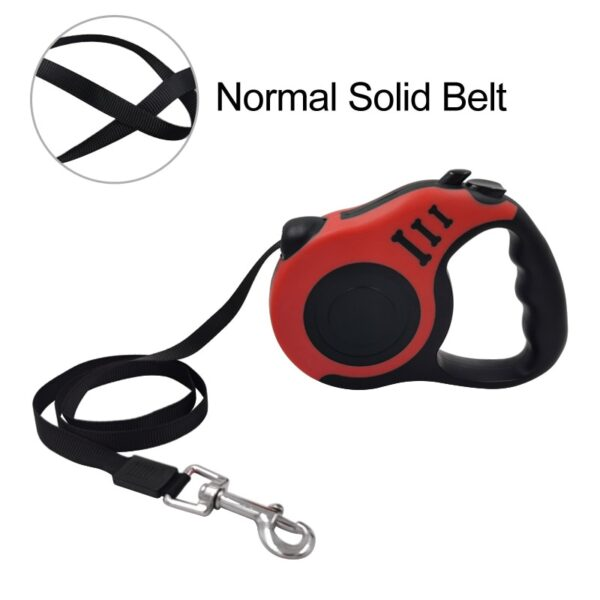 Durable Dog Leash Automatic Retractable Nylon Dog Lead Extending Puppy Walking Running Leads For Small Medium Dogs Pet Supplies