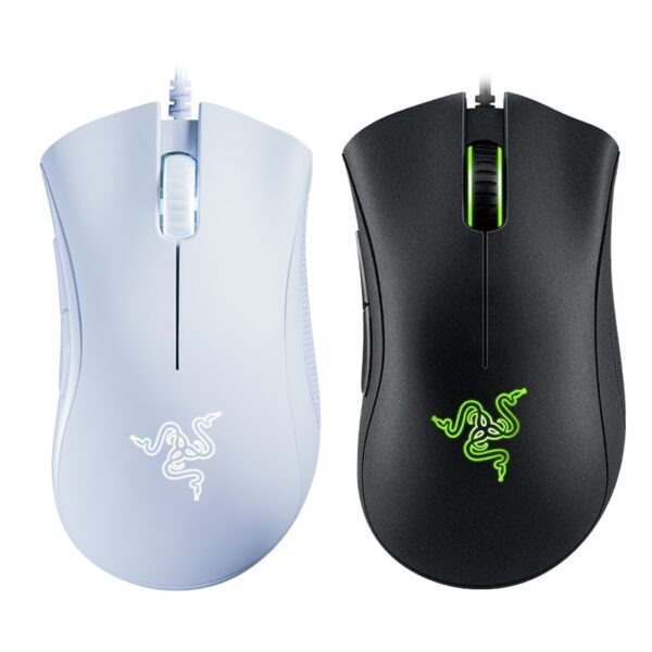Original Razer DeathAdder Essential Wired Gaming Mouse Mice 6400DPI Optical Sensor 5 Independently Buttons For Laptop PC Gamer