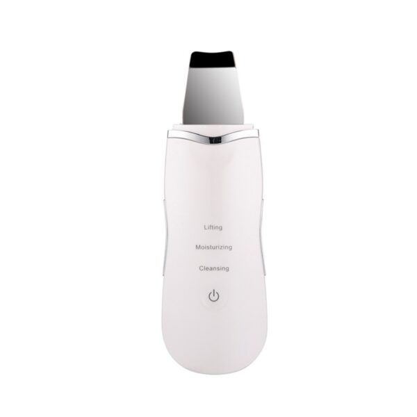 Professional Ultrasonic Facial Skin Scrubber Ion Deep Face Cleaning Peeling Rechargeable Skin Care Device Beauty Instrument 42