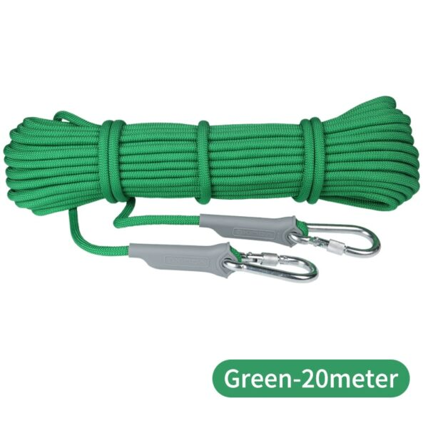 XINDA 10M Professional Rock Climbing Cord Outdoor Hiking Accessories Rope 9.5mm Diameter 2600lbs High Strength Cord Safety Rope