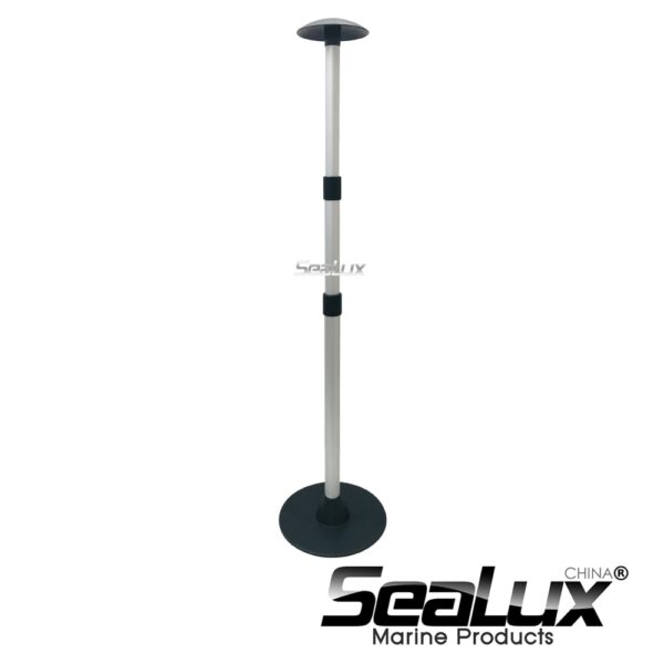 Sealux Aluminium 3 steps telescoping Boat Cover Support System for Marine Yacht Boat Accessory Fishing Sailing Hardware